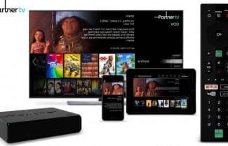 פרטנר: בתוך פחות מ-48 שעות נרשמו 5,000 לקוחות לפרטנר TV
