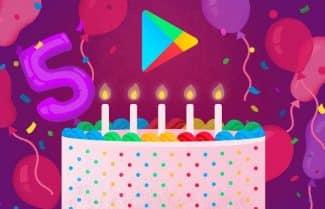 מזל טוב: גוגל פליי חוגגת חמש ומביאה את רשימת התכנים הפופולריים עד היום