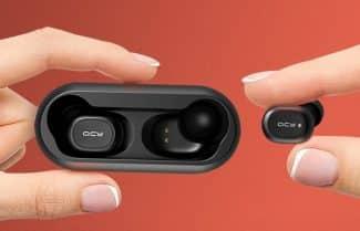 אוזניות ספורט QCY T1 True Wireless במחיר מבצע!