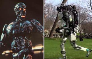 רובוט משטרתי: עצור או שנגמרת לי הסוללה