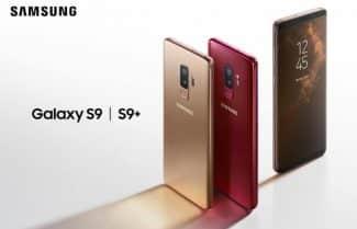סמסונג מציגה שני צבעים חדשים למכשירי +Galaxy S9 ו-Galaxy S9