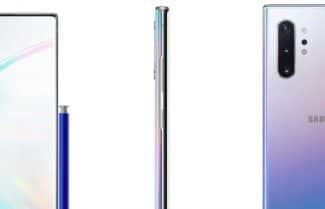 הדבר האמיתי: סט תמונות חושף את צמד מכשירי ה-Galaxy Note 10
