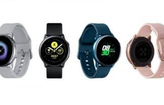 שעון חכם סמסונג Galaxy Active במחיר מבצע כולל זמינות מיידית!