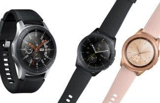 סמסונג מכריזה על השעון החכם Galaxy Watch בשני גדלים שונים