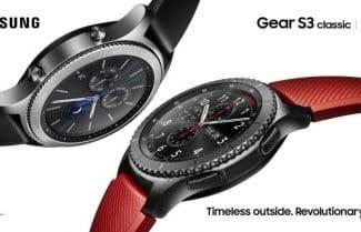 דיווח: השעון החכם סמסונג Gear 3 יושק במהלך חודש נובמבר