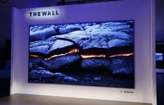 תערוכת CES 2018: סמסונג מציגה טלוויזית 146 אינץ' מודולרית