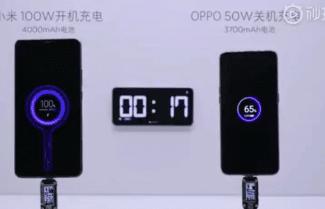 חברת Xiaomi מציגה טעינה סופר מהירה ב- 17 דקות בלבד