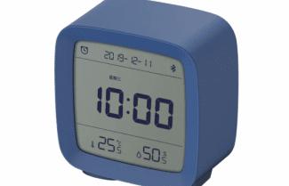 שעון שולחני מעורר ללא כפתורים הנשלט מאפליקציה