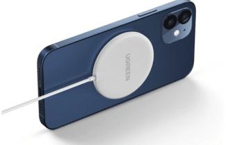מטען אלחוטי מגנטי 15 וואט Ugreen – מתאים גם לסדרת אייפון 12