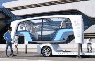 חברת הרמן הציגה ב-CES 2018 קונספט לרכב עתידי – צפו בוידאו