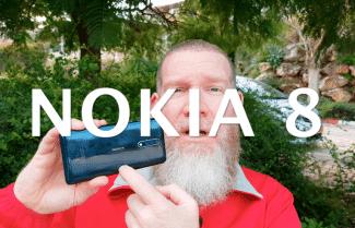 ג'ירפה בודקת: Nokia 8