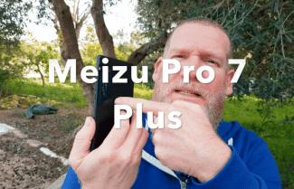 ג'ירפה בודקת: Meizu Pro 7 Plus