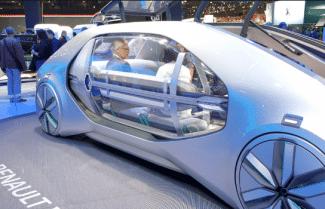 תערוכת הרכב Paris Mondial: חזון העתיד של רנו – צפו בוידאו