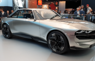 תערוכת הרכב Paris Mondial: רכב קונספט Peugeot E-Legend – צפו בוידאו