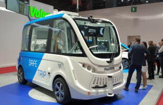 תערוכת הרכב Paris Mondial: חזון אוטונומי של Navya – צפו בוידאו