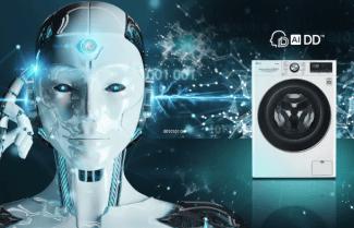 חברת LG מציגה AiDD מכונת כביסה עם בינה מלאכותית המחליטה עבורכם