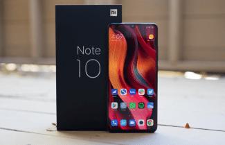 כבר יש ירידת מחיר: סמארטפון Xiaomi Mi Note 10 תצורת 6/128GB