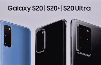 חברת Samsung הכריזה על סדרת מכשירי Galaxy S20