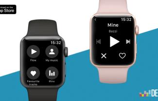 שירות המוזיקה Deezer משיק אפליקציה חדשה לשעונים החכמים של אפל