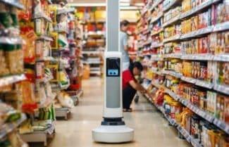 אינטל: רובוט חדשני לבדיקת מלאי מוצרים על מדפי החנות וסיוע לקונים