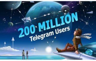 טלגרם חוגגת 200 מיליון משתמשים חודשיים ומוציאה עדכון חדש
