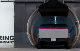 רכב ה- Tesla CyberTruck מתאים בדיוק למנהרות של The Boring Company [וידאו]