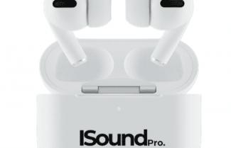 אוזניות iSoundPods Pro עם נטרול רעשים אקטיבי בדיל חדש