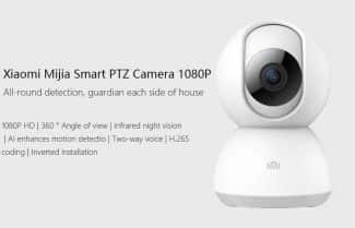 מצלמת אבטחה מבית שיאומי במחיר מעולה כולל קופון הנחה!