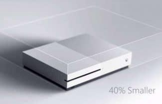 מיקרוסופט חשפה את ה-Xbox One S: קונסולת משחקים קומפקטית עם תמיכה ב-4K