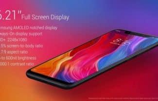 סמארטפון Xiaomi Mi 8 תצורת 6/128 גירסה בינלאומית במחיר מבצע עם קופון!
