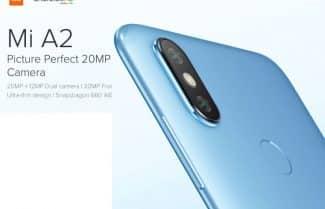 סמארטפון Xiaomi Mi A2 במחיר מבצע לזמן מוגבל – כולל משלוח מהיר!