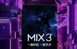 שיאומי מי מיקס 3 יגיע עם מצלמות 'קופצות' – ההכרזה ב-25 באוקטובר