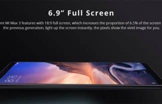 סמארטפון Xiaomi Mi Max 3 במחיר מעולה עם קופון הנחה!