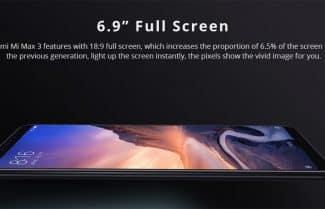 סמארטפון Xiaomi Mi Max 3 במחיר מבצע עם קופון הנחה!