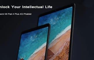 טאבלט Xiaomi Mi Pad 4 במחיר מעולה כולל קופון וביטוח מס!