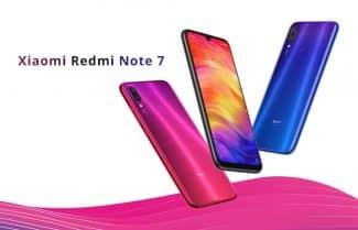 סמארטפון Xiaomi Redmi Note 7 במחיר מבצע כולל אחריות יבואן לשנתיים!