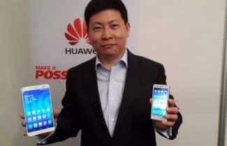 """מנכ""""ל וואווי: אנחנו שואפים לעקוף את סמסונג ואפל ולהפוך ליצרנית הגדולה בעולם"""