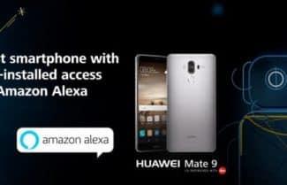 """ארה""""ב: Alexa מגיעה ל-Huawei Mate 9, אבל דרך אפליקציה בלבד"""