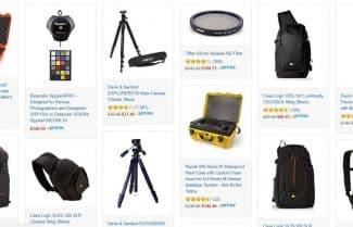 """מוצר היום באמזון ארה""""ב: עד 25 אחוזי הנחה על מגוון ציוד לצלמים"""