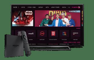 אפליקציית סלקום TV זמינה להורדה גם בסטרימרים של אמזון