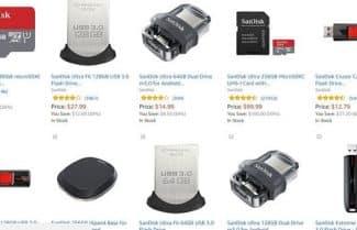 """מוצר היום באמזון ארה""""ב: עד 25 אחוזי הנחה על מגוון רחב של מוצרי SanDisk"""
