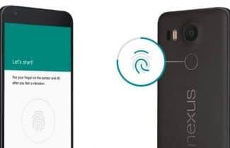 אנדרואיד 7.1.2 מביאה ל-Nexus 5X שימוש במחוות על משטח טביעת האצבע