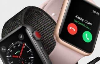 אפל מכריזה על Apple Watch 3 עם תמיכה בקישוריות סלולרית. החל מ-329 דולרים
