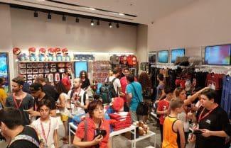 היינו שם: חברת נינטנדו פותחת חנות ראשונה בישראל