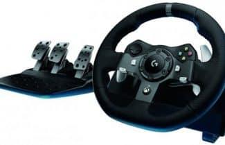 הגה מירוצים Logitech Driving Force G920 Retail – עבור PC ו- Xbox One