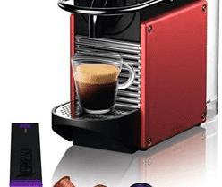 דיל מקומי: מכונת קפה Nespresso Delonghi Pixie בצבע אדום