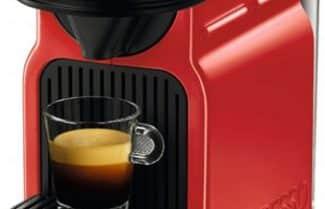 דיל מקומי: מכונת קפה Nespresso Krups Inissia צבע אדום
