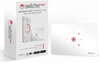 מפסק חכם לדוד שמש Switcher Touch *דור חדש* במחיר מבצע!