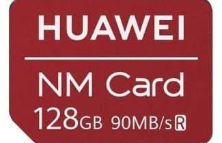 כרטיס זיכרון Huawei Nano Card בנפח 128 גיגה בייט במחיר משתלם!
