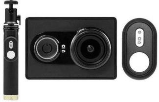 מצלמת אקסטרים Yi Action כולל מוט סלפי ושלט אלחוטי – במחיר מבצע!